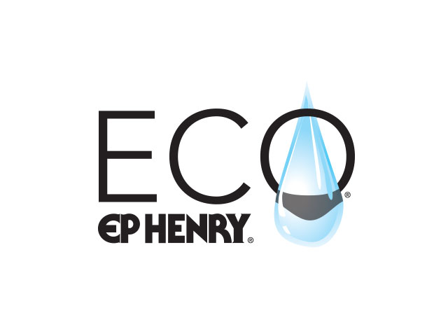 EPH ECO Logo. ECO is a hardscaping product which is water-permeable.